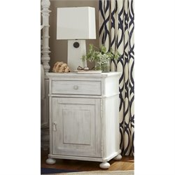 Paula Deen Home Dogwood Nightstand with Door in Blossom