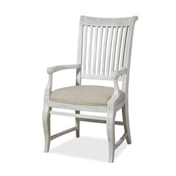 Paula Deen Home Dogwood Dining Arm Chair in Blossom