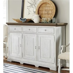 Paula Deen Home Dogwood Buffet Table in Blossom