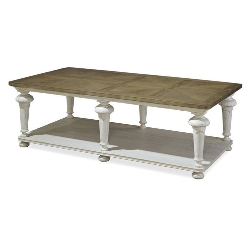 Paula Deen Home Dogwood Coffee Table In Blossom 597a801