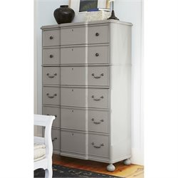Paula Deen Home Dogwood 6 Drawer Chest in Cobblestone