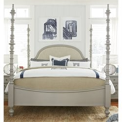 Paula Deen Home Dogwood California King Poster Bed in Cobblestone