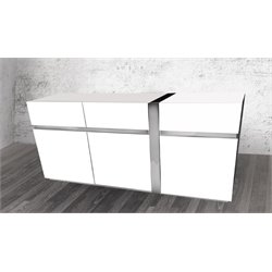 Casabianca Cristallino Buffet in White