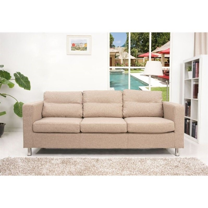 Gold Sparrow Detroit Fabric Sofa In Camel Adc Det Sof Ndx Cam