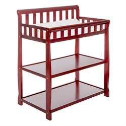 Dream On Me Ashton 2 in 1 Changing Table in Cherry
