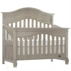 Evolur Cheyenne 5 in 1 Convertible Crib in Vintage Gray