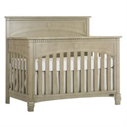 Evolur Santa Fe 5 in 1 Convertible Crib in Vintage Gray