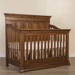 Evolur Napoli 5 in 1 Convertible Crib in Java