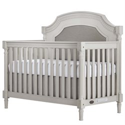 Evolur Julienne 5 in 1 Convertible Crib in French Linen