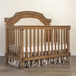 Evolur Julienne 5 in 1 Convertible Crib in Weathered Natural