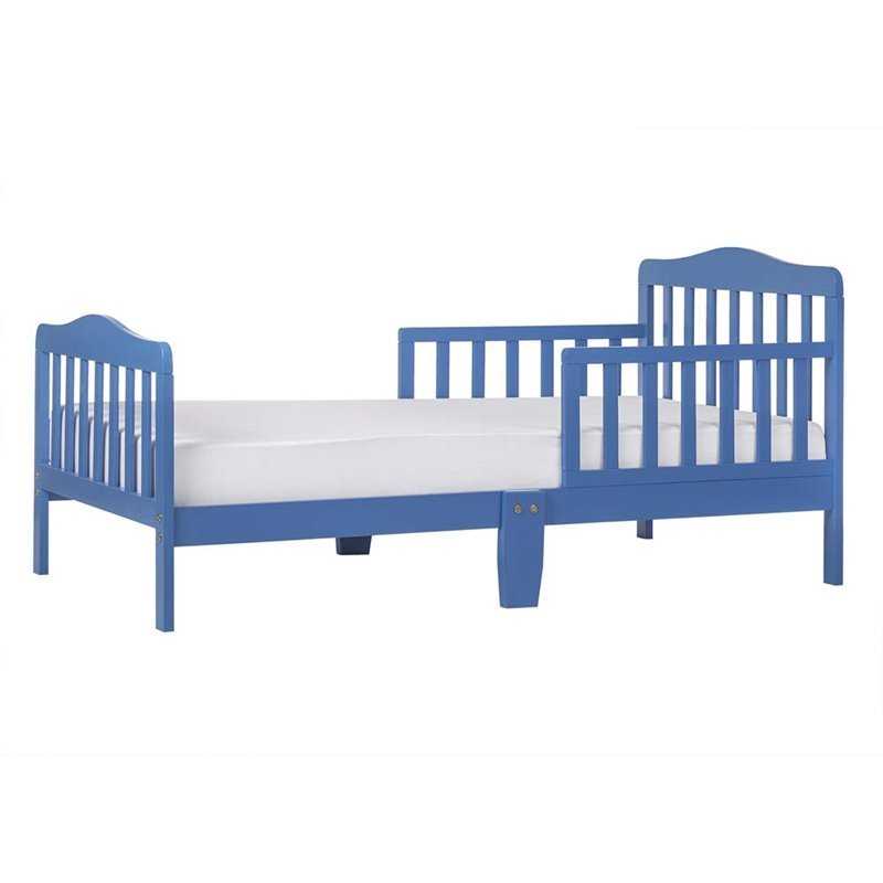 Dream On Me Classic Design Toddler Bed In Blue
