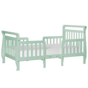 Dream On Me Emma 3-in-1 Convertible Toddler Bed in Mint