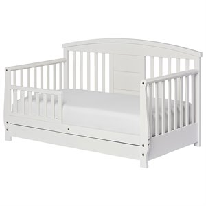Dream On Me Deluxe Toddler Daybed in White