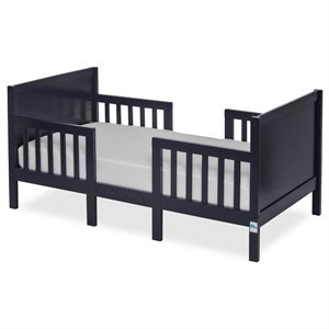 Dream On Me Hudson 3 in 1 Convertible Toddler Bed in Navy