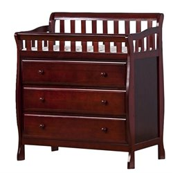 Dream On Me Marcus Changing Table and Dresser in Cherry