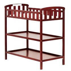Dream On Me Emily Changing Table in Cherry