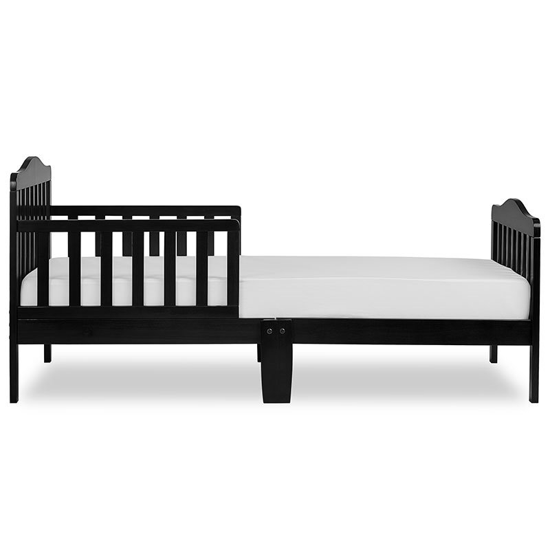 Dream On Me Classic Design Toddler Bed In Black