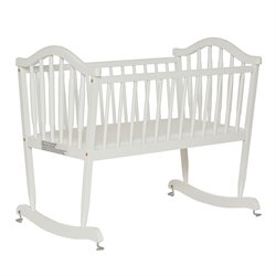 Dream On Me Rocking Cradle in White