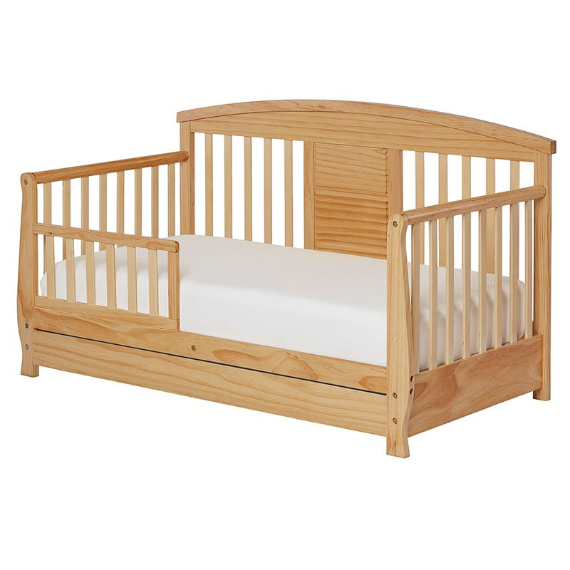 Dream on me deluxe toddler day bed in natural 653 n for Beds n dreams