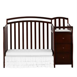 Casco 4-in-1 Mini Crib and Changing Table