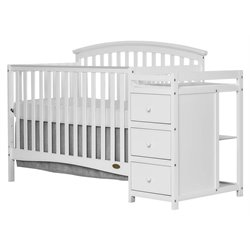 Niko 5-in-1 Convertible Crib with Changer