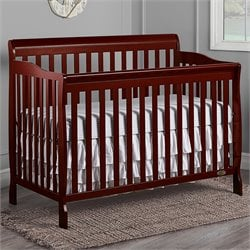 Dream On Me Ashton Convertible 5-in-1 Crib in Cherry
