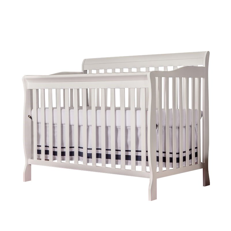 Dream On Me Ashton Convertible 5-in-1 Crib in White