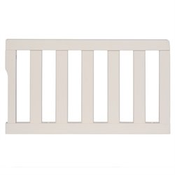 Dream On Me Universal Convertible Crib Guard Rail in Pearl White