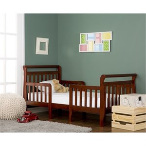Dream On Me Emma 3-in-1 Convertible Toddler Bed  in Espresso