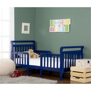 Dream On Me Emma 3-in-1 Convertible Toddler Bed  in Royal Blue