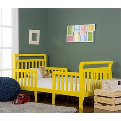 Dream On Me Emma 3-in-1 Convertible Toddler Bed  in Yellow