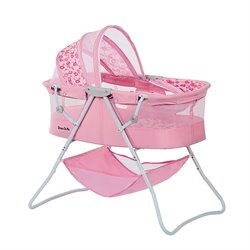 Dream On Me Karley Bassinet In Pink