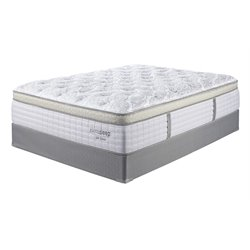 Sierrasleep Mt Dana ET King Mattress in Blue and White