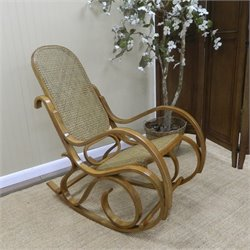 Carolina Classic Leona Bentwood Rocker in Oak