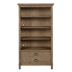 Stone & Leigh Driftwood Park 4 Shelf Bookcase in Sunflower Seed