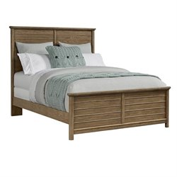 Stone & Leigh Driftwood Park Queen Panel Bed in Sunflower Seed