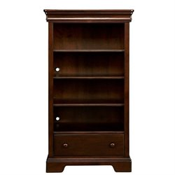 Stone & Leigh Teaberry Lane 4 Shelf Bookcase in Midnight Cherry
