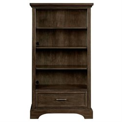 Stone & Leigh Chelsea Square 4 Shelf Bookcase in Raisin