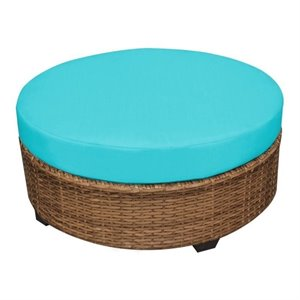 Laguna Outdoor Wicker Round Coffee Table