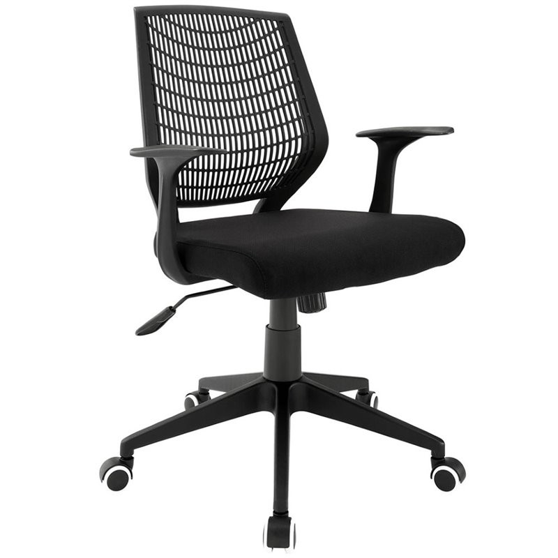 Modway Entrada Mesh Office Chair in Black