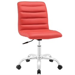 Modway Ripple Mid Back Armless Swivel Office Chair