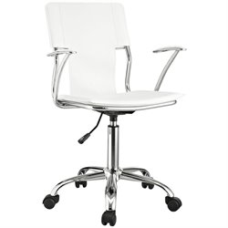 Modway Studio Office Chair in White