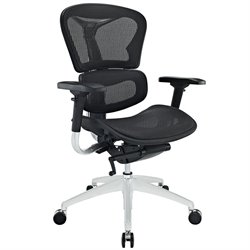 Modway Lift Mesh Office Chair in Black
