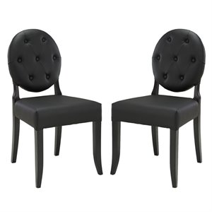 Modway Button Dining Side Chair 2