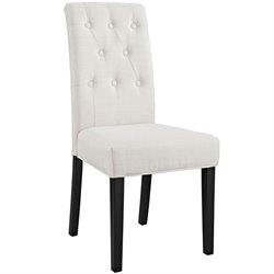 Modway Confer Dining Side Chair in Beige