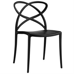 Modway Enact Dining Side Chair in Black