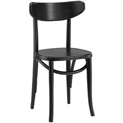 Modway Skate Dining Side Chair in Black