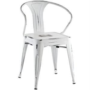 Modway Promenade Metal Dining Chair 1