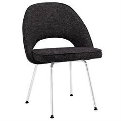 Modway Cordelia Dining Side Chair in Black
