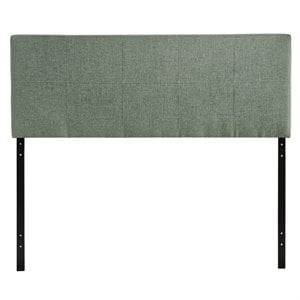 Modway Oliver Panel Headboard in Gray